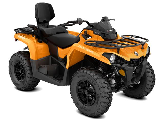 2018 Outlander MAX DPS 570 Orange Crush