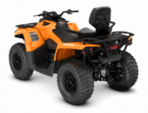 2018 Outlander MAX DPS 570 Orange Crush hinten