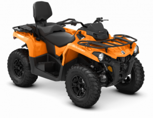 2018 Outlander MAX DPS 570 Orange Crush vorne