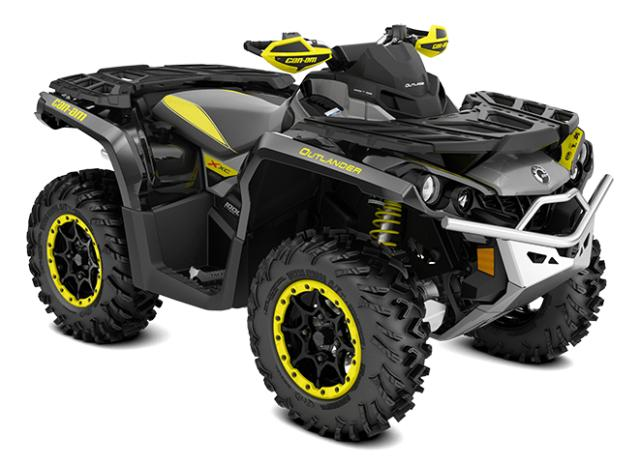 2018 Outlander Xxc 1000R Sunburst Yellow Black