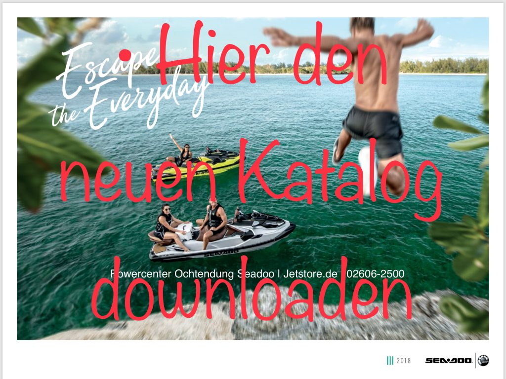 Seadoo Katalog 2018 download