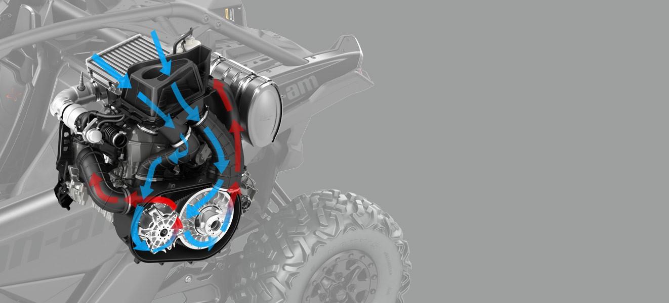 Getriebe Variomatik Maverick X3