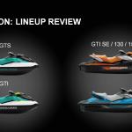 Neue Seadoo 2018 GTS GTI