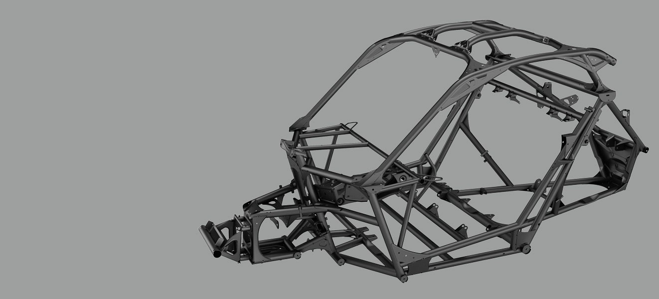 Rahmen Stahl Maverick X3
